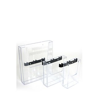 CROWN TRUSS 10x10, Brochure dispenser A5 with fitting