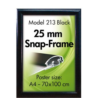 ALU SNAP-FRAME 25mm (G) A2 RAL9005