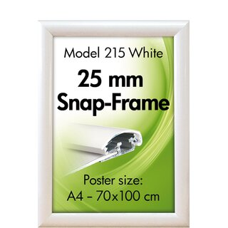 ALU SNAP-FRAME 25mm (G) A3 RAL9003